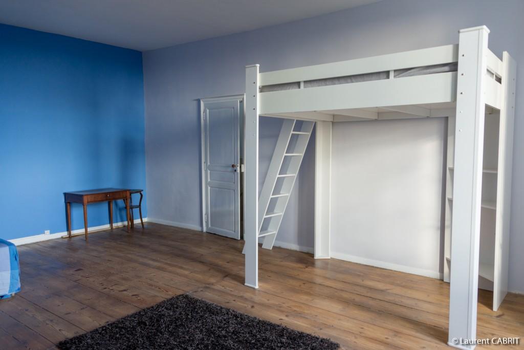 Chambre Bleue 34 m² - Lit Double 140x190 + Lit Double ...
