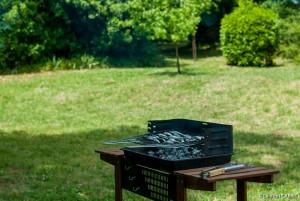 Barbecue dans le Jardin - [Location Langoiran Bordaux Ligassonne]