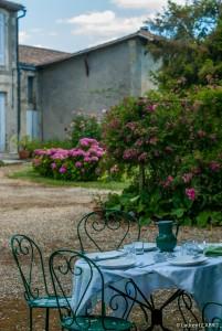 Table dans le Jardin - [Location Langoiran Bordaux Ligassonne]