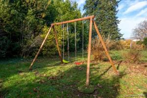 Balançoire dans le Jardin - [Location Langoiran Bordaux Ligassonne]